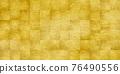 金washi紙樣式背景 76490556