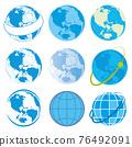 地球儀 土地 土 76492091