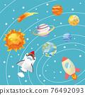 地球儀 土地 土 76492093
