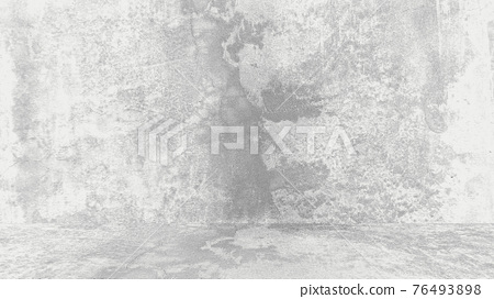 Grungy white background of natural cement or stone old texture as a retro pattern wall. Conceptual wall banner, grunge, material,or construction. 76493898