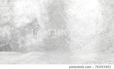 Grungy white background of natural cement or stone old texture as a retro pattern wall. Conceptual wall banner, grunge, material,or construction. 76493902