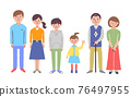 3 세대 가족 76497955