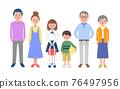 3 세대 가족 76497956