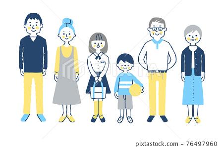 3 세대 가족 76497960