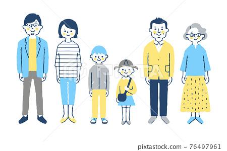 3 세대 가족 76497961