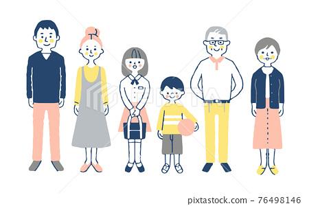 3 세대 가족 76498146