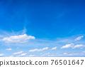 봄의 푸른 하늘 76501647