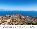 Naples City Cityscape In Italy 76503243