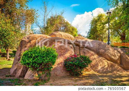 Park in Aswan 76503567