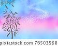 star festival, starry sky, tanabatdecorations 76503598