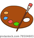 palette, pigment, painting material 76504603