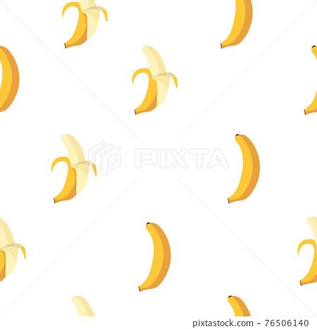 Bananas fruit seamless pattern background 76506140