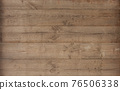 Brown wood texture empty template. Wall of old wooden plank boards. Material texture surface. 76506338