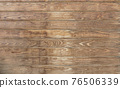 Brown wood texture empty template. Wall of old wooden plank boards. Material texture surface. 76506339