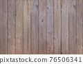 Brown wood texture empty template. Wall of old wooden plank boards. Material texture surface. 76506341