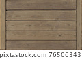 Brown wood texture empty template. Wall of old wooden plank boards. Material texture surface. 76506343