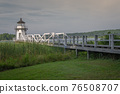Doubling Point Lighthouse, Arrowsic, Maine, New England, United States of America 76508707