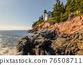 Bass Harbor Lighthouse, Acadia National Park, Maine, Mount Desert Island, United States of America 76508711