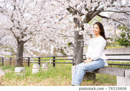 櫻桃女人肖像 76510606