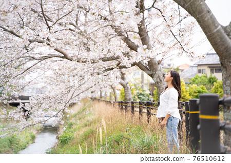 櫻桃女人肖像 76510612