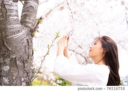 櫻桃女人肖像 76510758