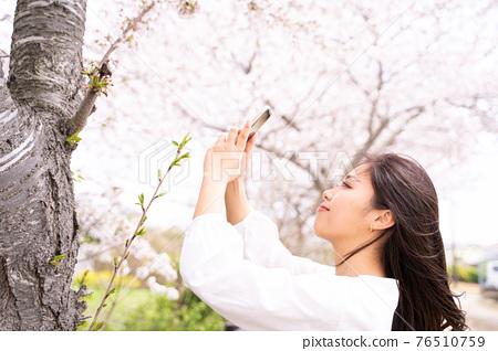 櫻桃女人肖像 76510759