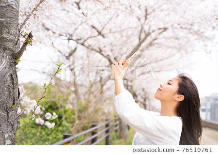 櫻桃女人肖像 76510761