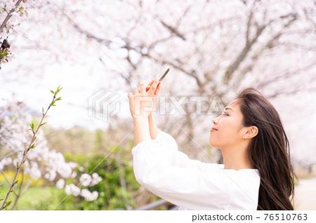 櫻桃女人肖像 76510763