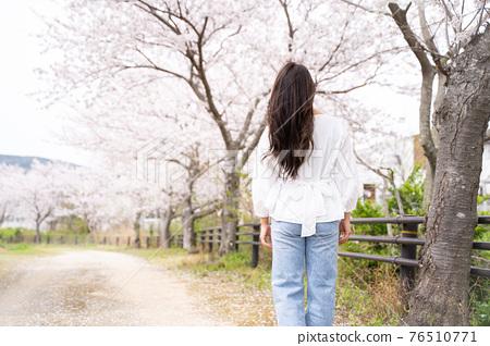 櫻桃女人肖像 76510771