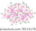 玫瑰 玫瑰花 花束 76514178