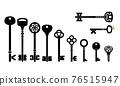 Retro key collection 76515947