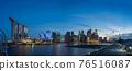 marina bay, singapore, night scape 76516087