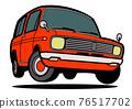 矢量 車 交通工具 76517702