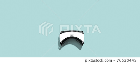 Virtual reality headset with shadow 76520445