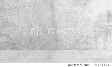 Grungy white background of natural cement or stone old texture as a retro pattern wall. Conceptual wall banner, grunge, material,or construction. 76521153
