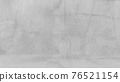Grungy white background of natural cement or stone old texture as a retro pattern wall. Conceptual wall banner, grunge, material,or construction. 76521154