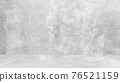 Grungy white background of natural cement or stone old texture as a retro pattern wall. Conceptual wall banner, grunge, material,or construction. 76521159