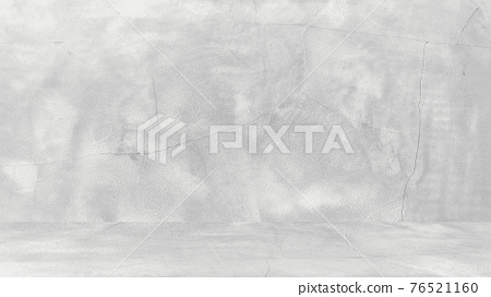 Grungy white background of natural cement or stone old texture as a retro pattern wall. Conceptual wall banner, grunge, material,or construction. 76521160