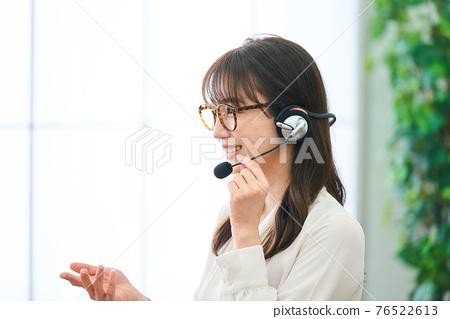 female, lady, woman 76522613