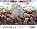 Fashionable flower altar with Phalaenopsis orchid 76526665