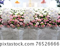 Fashionable flower altar with Phalaenopsis orchid 76526666