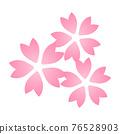 벚꽃의 꽃 76528903