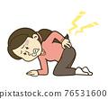 腰痛 背痛 下背疼痛 76531600