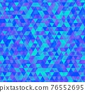 Vector trendy low poly seamless pattern. Camouflage polygonal background 76552695