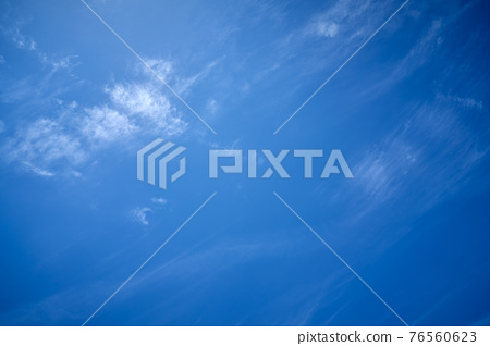 summer white cloud with blue sky background 76560623