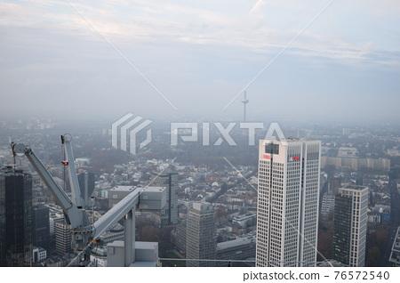 frankfurt, town areas, cityscape 76572540