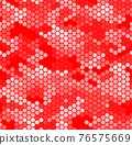 Monochrome seamless honey pattern with halftone hex cells in linear style 76575669