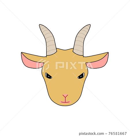 goat, goats, mountain goat 76581667