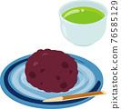 牡丹餅 荻餅 和菓子 76585129