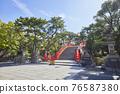 住吉大社是住吉神社的頭廟,是大阪最大的神社。 76587380